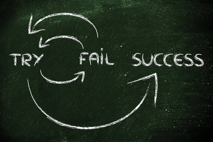 Why failure is your best tool on the path to success